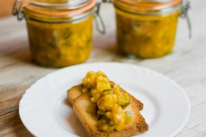 Piccalilli on toast