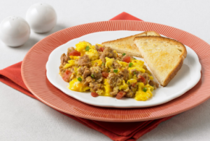 Turkey Salsa Scramble