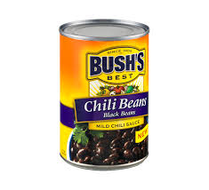 BUSH'S® BLACK BEANS IN A MILD CHILI SAUCE