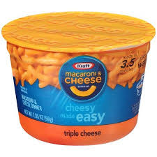 Kraft Easy Mac Triple Cheese Macaroni & Cheese