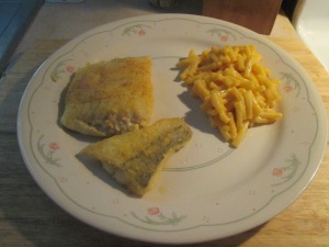 Seasoned Haddock w Mac and Cheese 004
