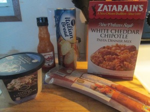 White Cheddar Chipotle Pasta and Hardwood Smoked Turkey Sausage 001