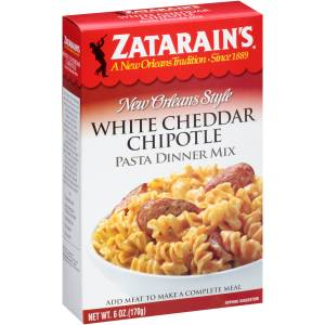 Zatarain's White Cheddar Chipotle Pasta Dinner Mix
