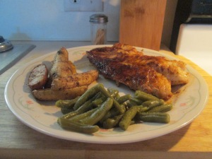 Blackened Gulf Coast Grouper Baked Fingerling Potatoes 007