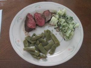 Buffalo 6 oz. Fine Cut Sirloin Steak w Roasted Cauliflower and C 015