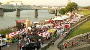 Goettafest tents