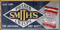 An advertisement for Smith's Potato Crisps
