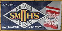 An advertisement for Smith's Potato Crisps