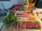 Dutch Smoked Gouda, Bacon, Pork Burger w Baked Shoestring Fries001