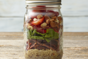 Easy Strawberry Turkey Bacon Salad