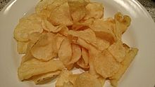 Kettle-cooked chips