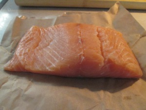 Salmon Fillet raw