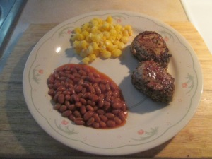 Tuscan Seasoned Pork Loin Medallions w Golden Hominy and Vegetar 011