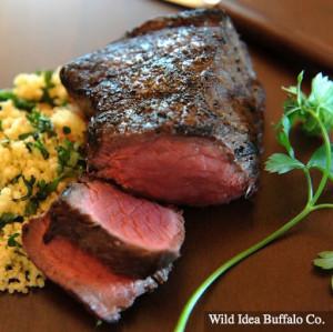 Wild Idea Buffalo 8 oz. Top Sirloin Steak