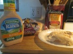 Buffalo Ranch Pulled Chicken Sandwich w Baked Fries002