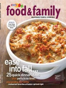 Kraft Food & Family Magazine