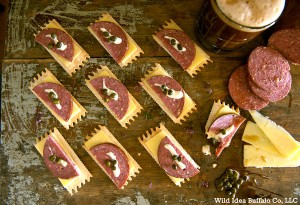 Summer Sausage Canapes