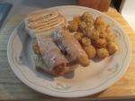Swiss and Chicken Sandwich w Baked Potato Puffs003