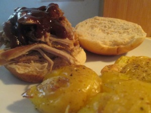 bbq-pork-shoulder-roast-sandwich-w-rustic-smashed-potatoes-with-013