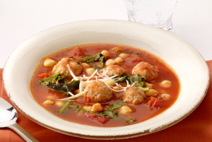 turkey-meatball-chickpea-soup