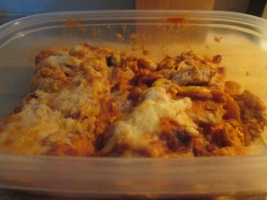 healthy-harvest-turkey-lasagna-and-baked-french-bread-002