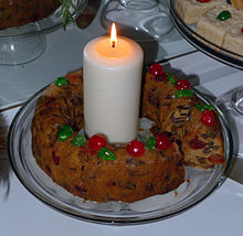 Traditional American Fruitcake
