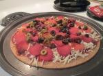 turkey-sausage-turkey-pepperoni-mushroom-and-olive-pizza-009
