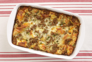 breakfast-strata-casserole-with-turkey-sausage