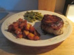 Cumin Spiced Pork Chop w Roasted Butternut Squash, Cut Italian B 003