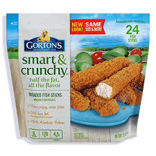 Crunchy breaded fish sticks w whole grain mac and cheese for Are fish sticks good for you