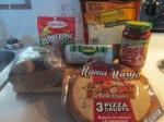 Turkey Sausage, Turkey Pepperoni 7″ Whole Grain Crust Pizza001
