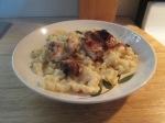 Alfredo Pasta w Chicken Breasts009