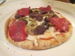 Turkey Pepperoni and Turkey Sausage Pita Bread Pizza015