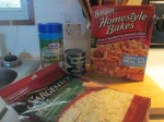 Banquet Homestyle Bakes – Pasta and Meatballs in Marinara Sauce001