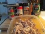 Chicken Stir fry Noodles Water Chestnuts Green Beans002