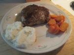 Cumin Spiced Pork Chop Mashed Potatoes Carrots007