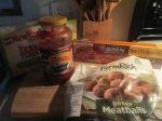 Whole Wheat Spaghetti and Turkey Meatballs001