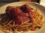 Whole Wheat Spaghetti and Turkey Meatballs015