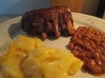 Crock Pot Ribs Applewood Bacon Pot Cass006