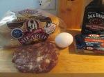 Bacon, Blue, Cheese, and Egg Buffalo Burger002