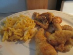 Fried Catfish Nuggets Mac and Cheese005