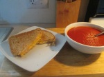 Grilled Cheese and Tomato Soup001