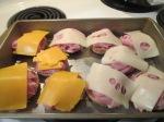 Baked Ham and Swiis Fries009