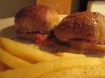 Baked Ham and Swiis Fries025