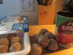 Whole Wheat Spaghetti and Turkey Meatballs 003