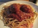 Whole Wheat Spaghetti and Turkey Meatballs010