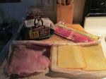 Grilled Ham Bacon Gouda Cheese Sandwich001