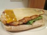 Bacon Double Cheddar Chicken Sandwich007