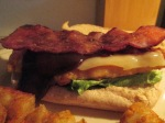 Bacon Double Cheddar Chicken Sandwich014