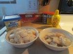 Bay Scallop and Shrimp Thin Spaghetti Pasta001